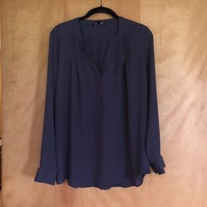 Dark gray blouse by simply Vera